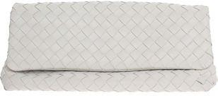The Bag To Have: Bottega Veneta White Flap Clutch