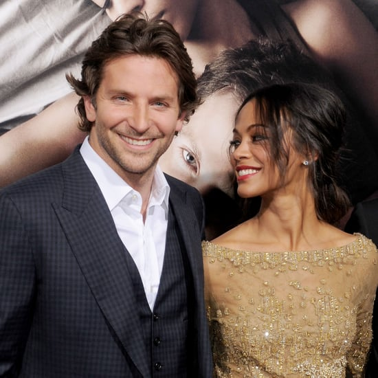Zoe Saldana and Bradley Cooper at The Words LA Premiere