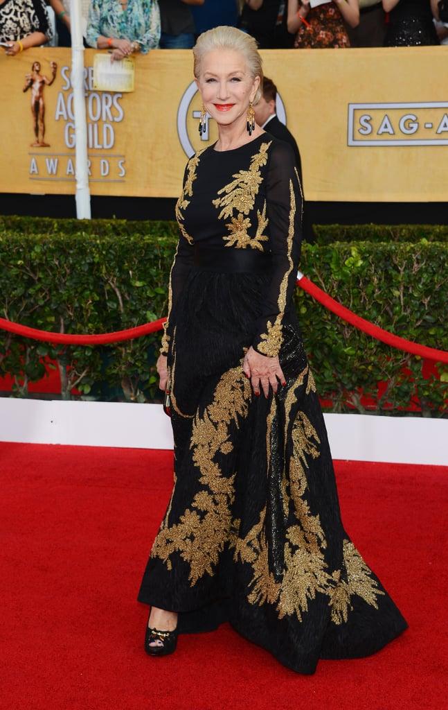 Helen Mirren at the SAG Awards 2014