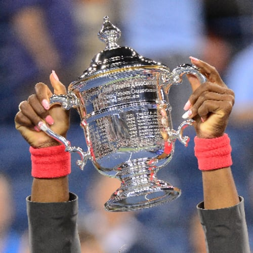 Serena Williams Hair and Nails | US Open 2013