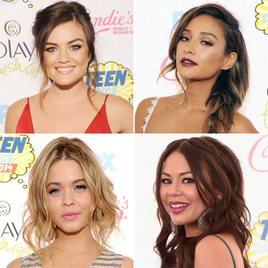 The Pretty Little Liars Cast at the 2014 Teen Choice Awards