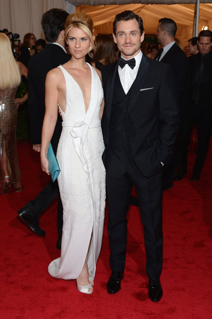 Claire Danes and Hugh Dancy stepped onto the red carpet at the Met Gala.