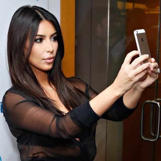 Kim Kardashian on iCloud