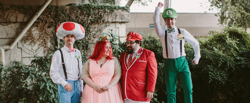 This Couple Threw a Super Mario-Themed Wedding — and It's Adorable
