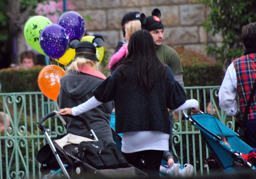 Christina and Matt Celebrate Max's Birthday With Mouse Ears
