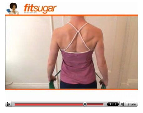 Back Off! Chest Expansion with a Theraband