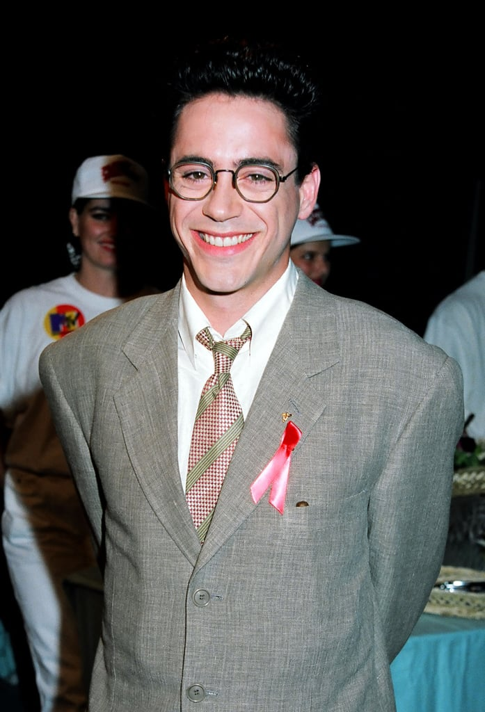 Robert Downey Jr. looked like this.