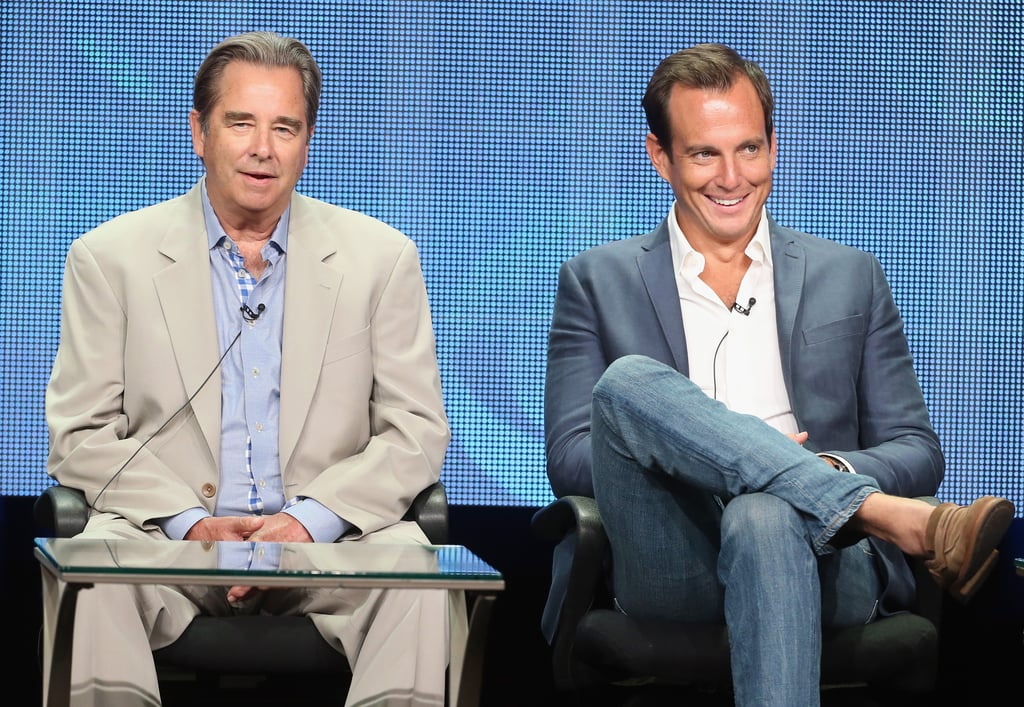 Will Arnett and Beau Bridges spoke on a panel about The Millers.