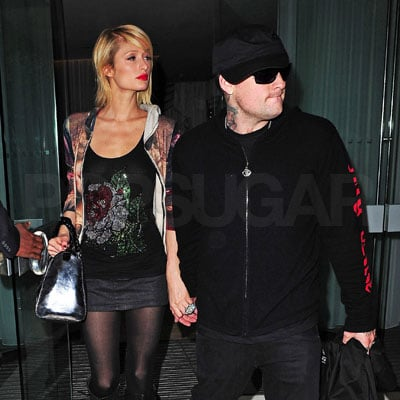 Paris Hilton and Benji Madden in London