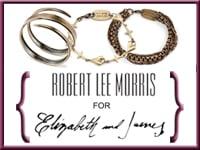 CelebStyle  Robert Lee Morris for Elizabeth and James Bracelet Giveaway