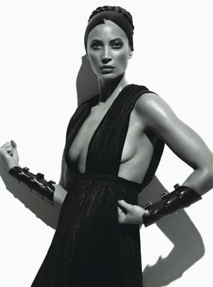 Christy Turlington in August 2008 Issue of W magazine