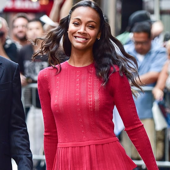 Zoe Saldana's Shoplifting Story Video July 2016