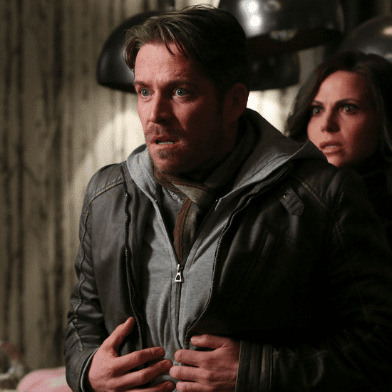 Sean Maguire on Robin Hood's Death on Once Upon a Time