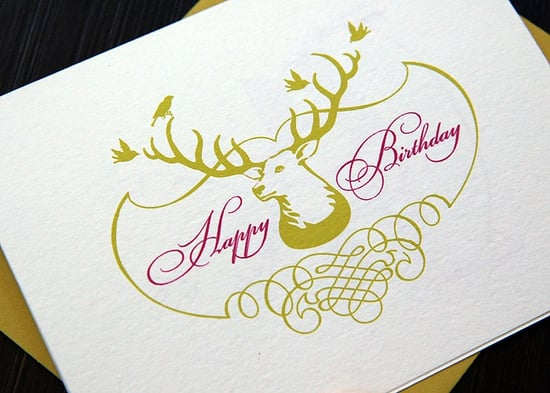 The Card Shop: Turtle Papers Happy Birthday Deer Card Set