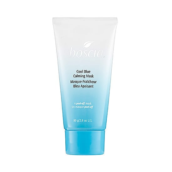 Willow herb in the Boscia Cool Blue Calming Mask ($34) will help minimize the redness of a sunburn, while aloe vera soothes inflammation. Next time, take a hat to the beach.  — JC