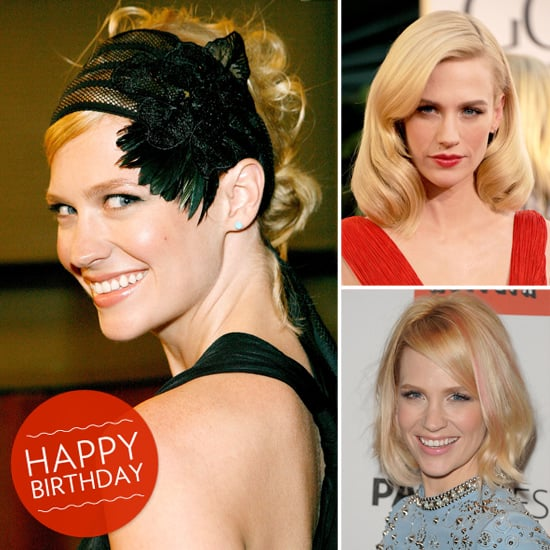 Happy Birthday, January Jones! See Her Standout Beauty Looks