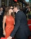Robert Downey Jr. and Susan Downey showed PDA on the red carpet.