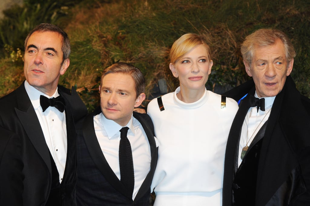 Prince William Helps Cate Blanchett Premiere The Hobbit in London