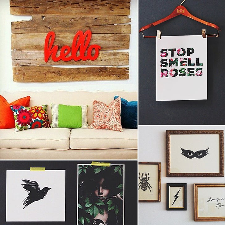 27 Creative Ways to Decorate Your Walls