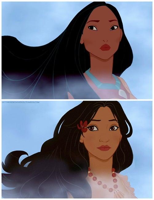 Pocahontas as a Different Race