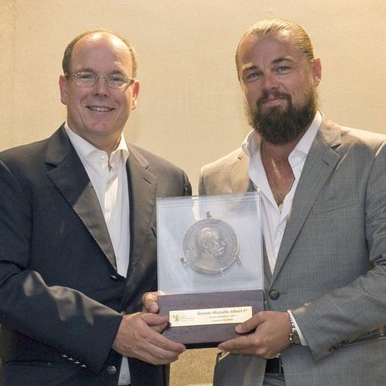 Leonardo DiCaprio Receives Monaco Medal of Mediation 2015
