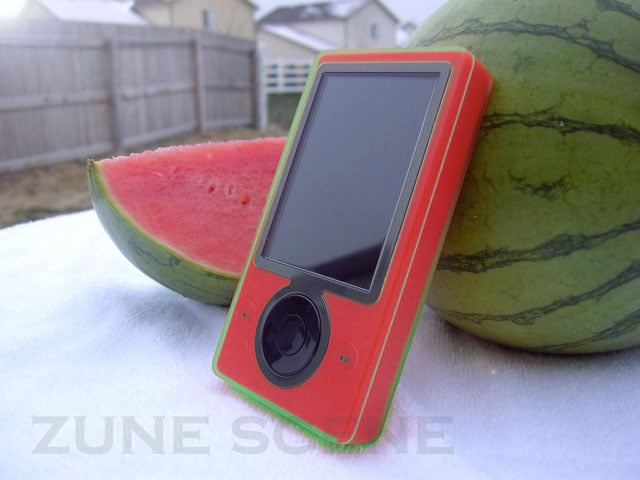 Want To Carry A Watermelon Zune?