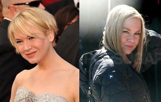Renee Zellweger's hair: short and long pictures