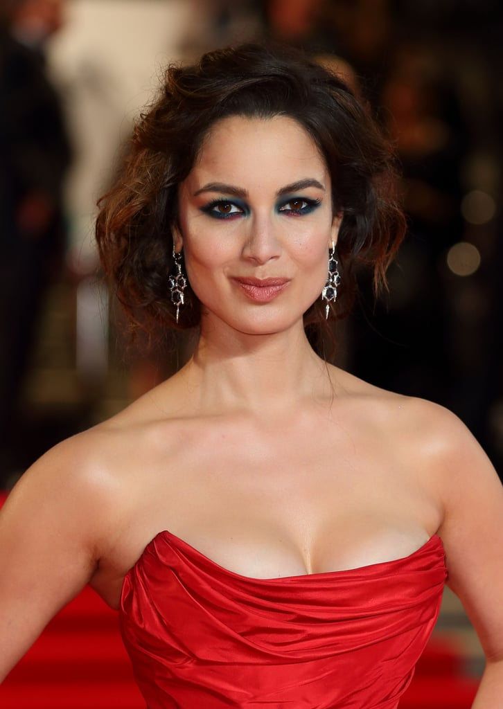 Bérénice finished off her look with gorgeous Stephen Webster earrings.