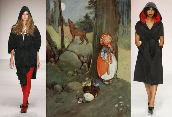 LA Fashion Week Trend Alert: Little Red Riding Hood