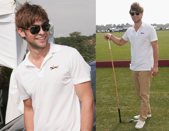 Photos of Chace Crawford at Mercedes-Benz Polo Challenge