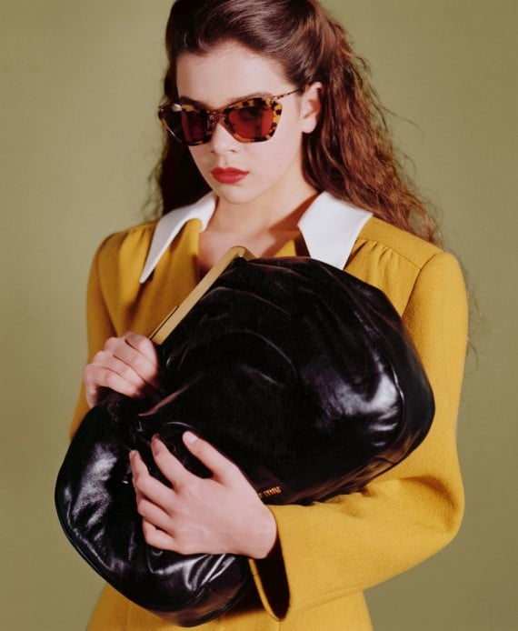 Miu Miu Fall 2011 Accessories shot by Bruce Weber on Hailee Steinfeld