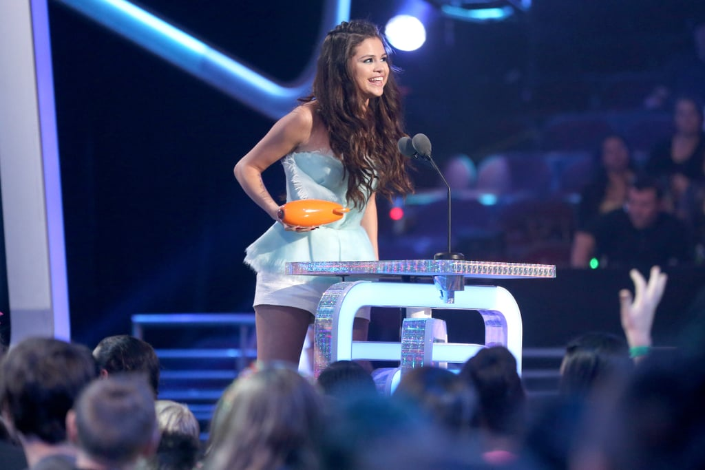Selena Gomez took home an award at the Kids' Choice Awards.