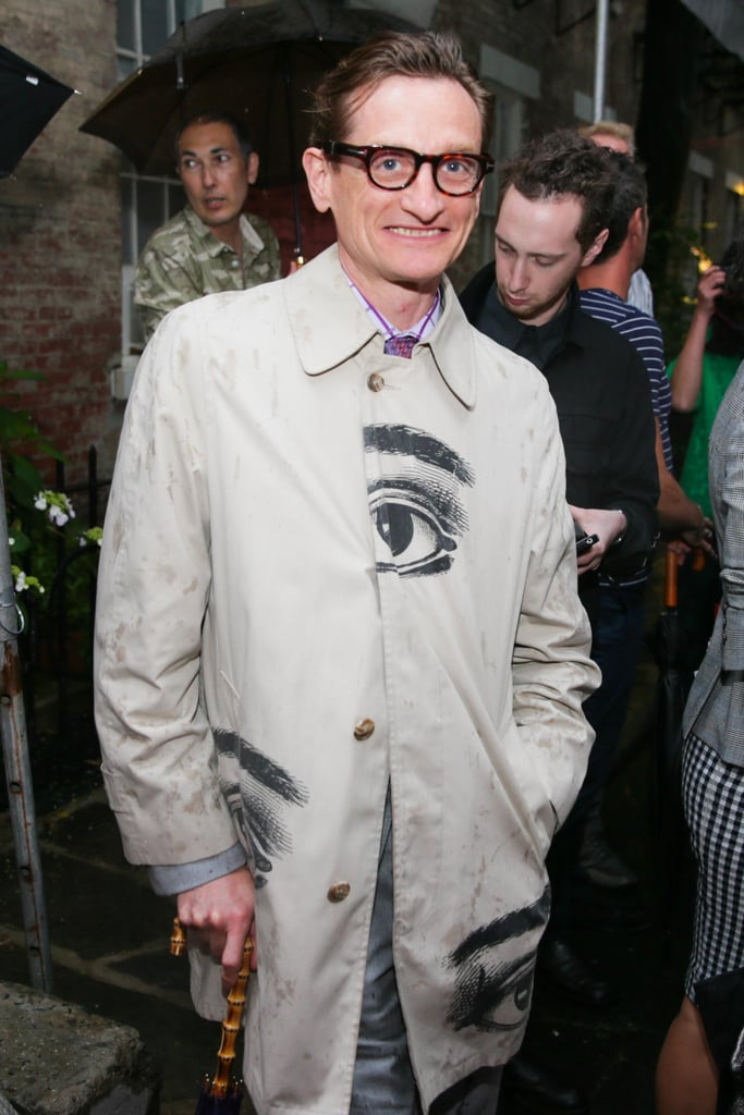 Hamish Bowles at Stella McCartney's Resort 2014 presentation. Source: David X Prutting/BFAnyc.com