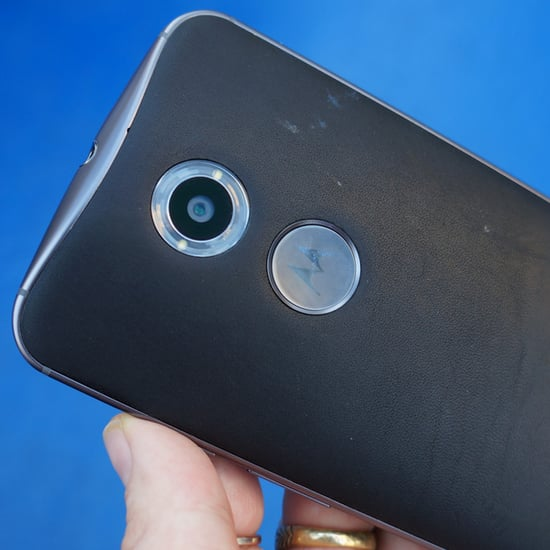 Moto X Leather Backing Review