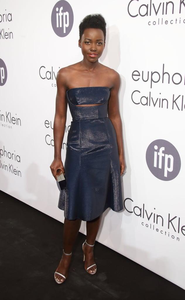 Lupita Nyong'o at the Calvin Klein Women in Film Party