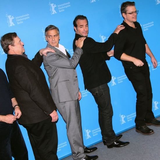 Funny George Clooney and Matt Damon Pictures