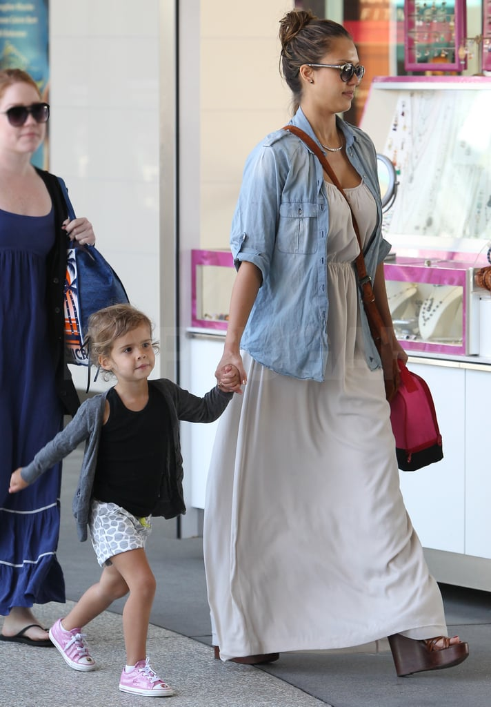 Jessica Alba and Honor Warren stepped out together in Santa Monica.