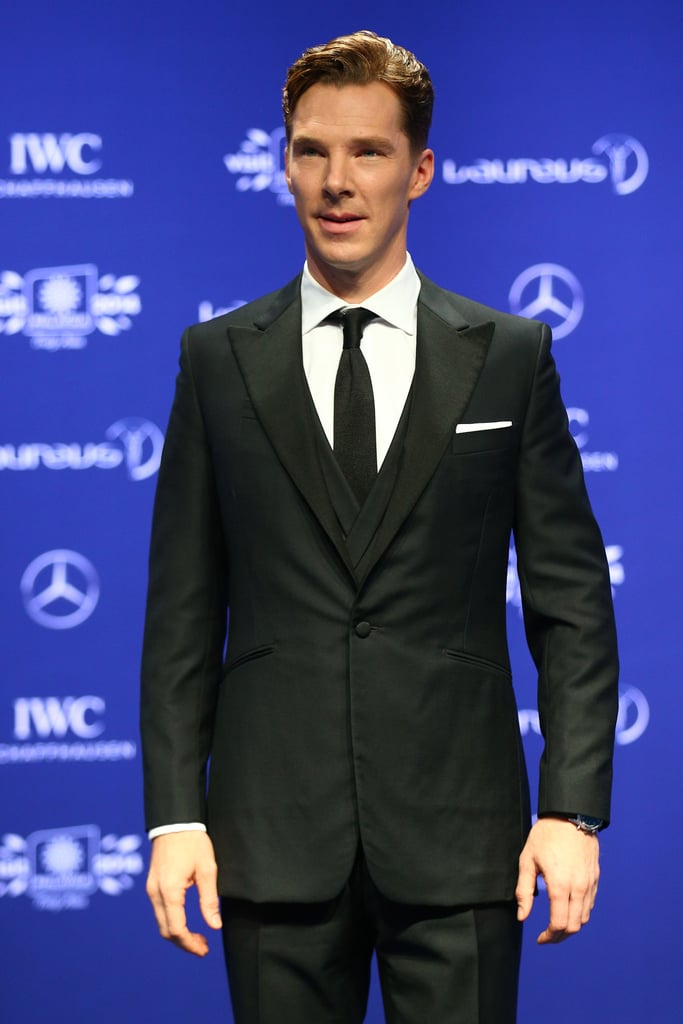 We Don't Know Why Benedict Hosted a Sports Show, but We'll Take It