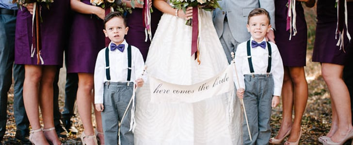 8 Fun Ways to Incorporate Kids Into Your Wedding