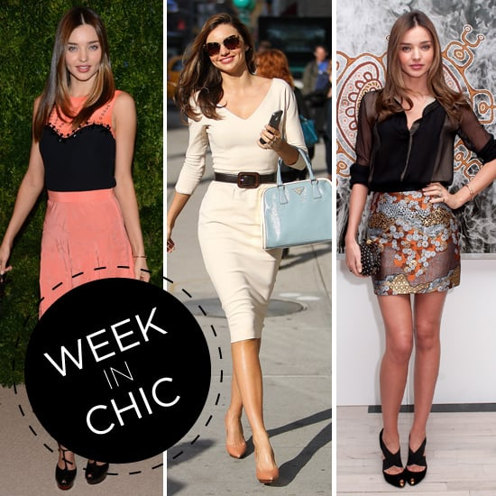 A Week In Chic: Miranda Kerr