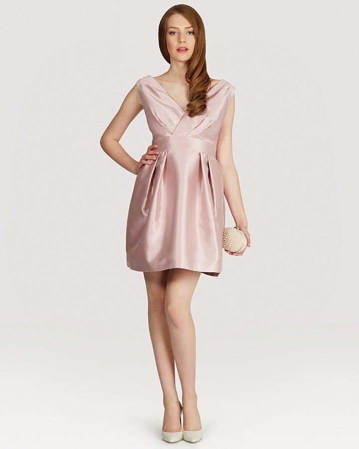 Coast pink satin Riley dress ($260)