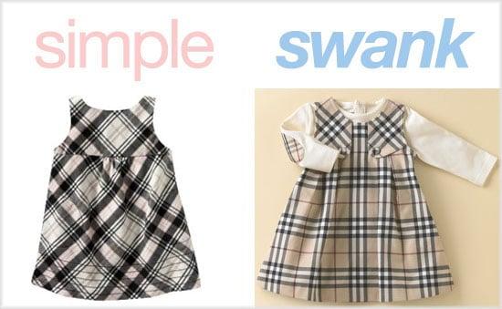 Simple or Swank: Plaid Dresses