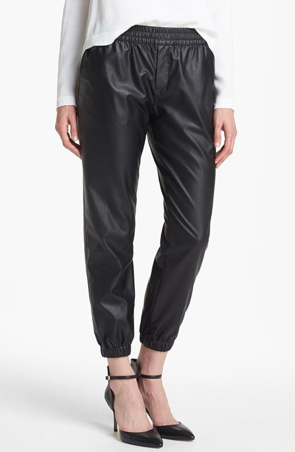 Intrigued by leather sweatpants? Try the trend in an affordable Piper version ($49) that won't hurt your wallet as much as the real thing.