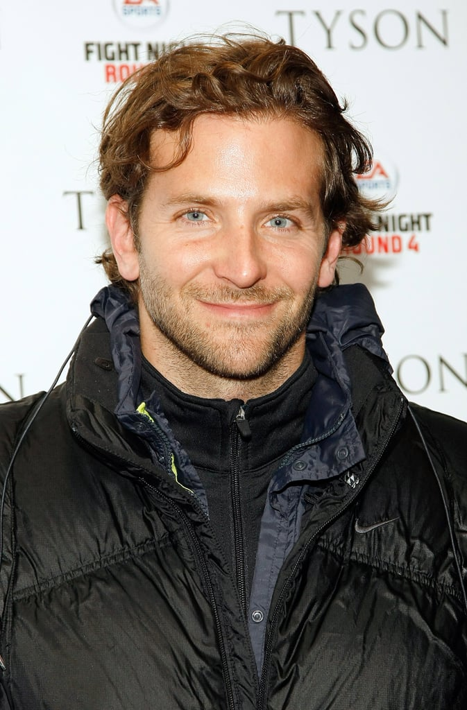 Check out the curls on Bradley at the Tyson premiere in 2009!
