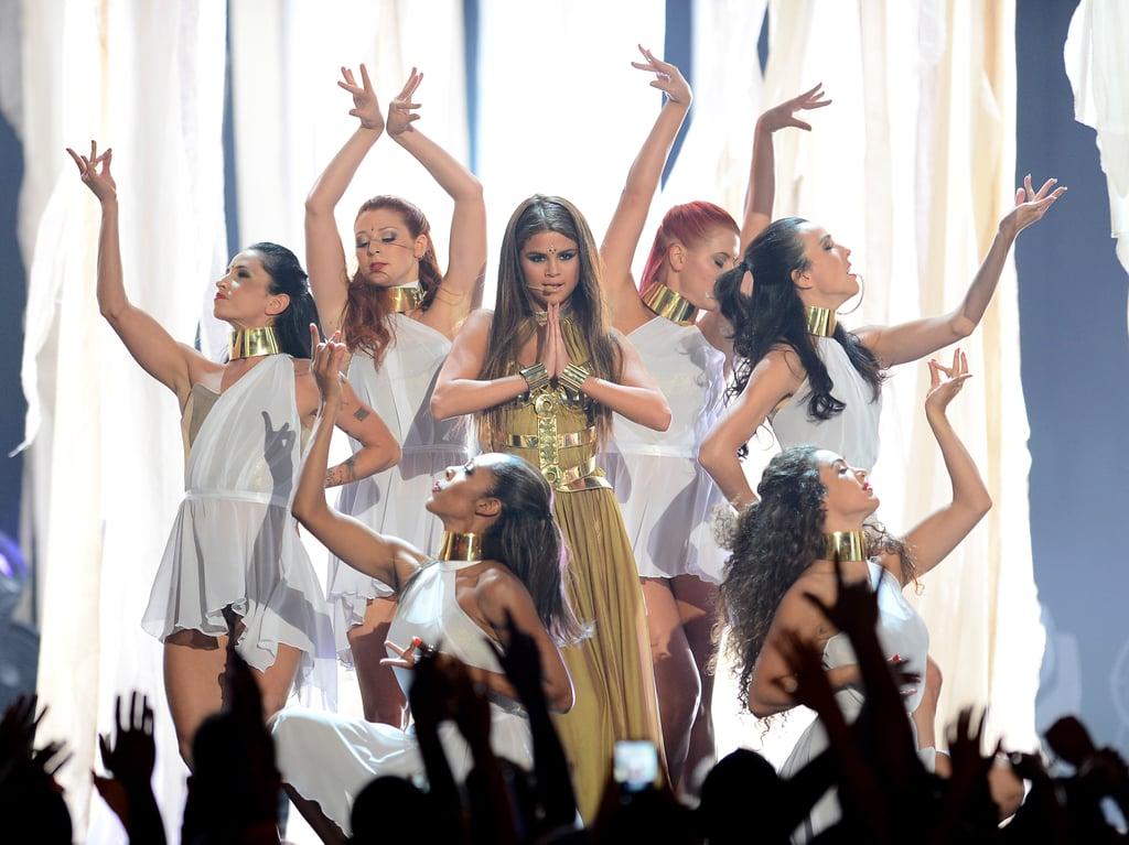 Selena Gomez performed at the Billboard Music Awards.