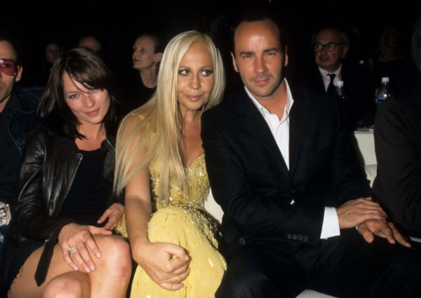 1999: VH1/<i>Vogue</i> Fashion Awards with Donatella Versace and Tom Ford