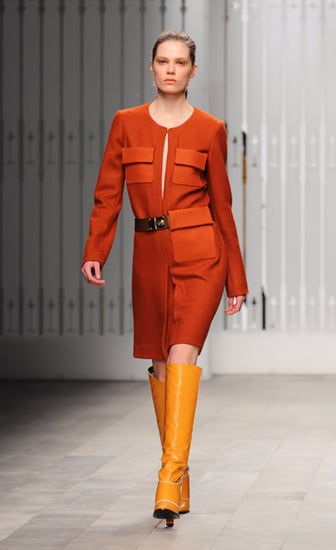 Photos of Jaeger London Autumn Winter 2011 at London Fashion Week