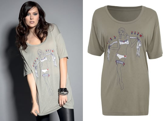 Laura Lees for Freya T-shirt for the Holy Fit Campaign