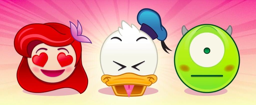 Disney's Emoji Keyboard Is Everything Your Heart Desires