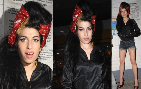 Amy Winehouse Released On Bail Late Last Night